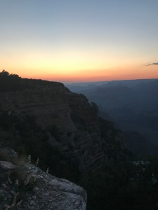 Sunset at the south rim.